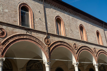 Fotomurales - Historic palace of Faenza, Italy