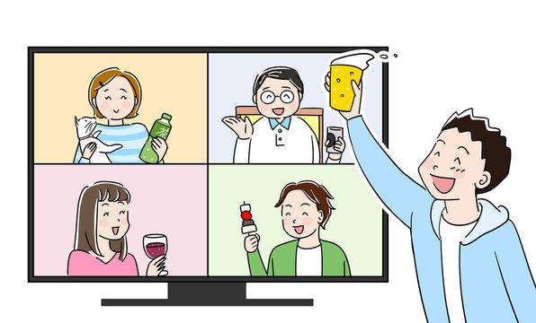 オンライン飲み会1