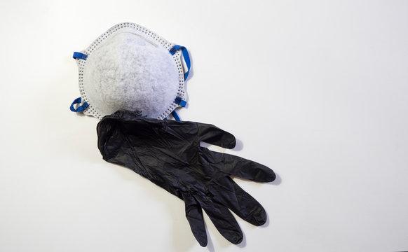 guanti e mascherina