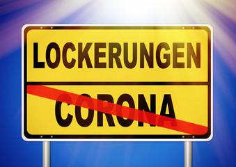 Lockerungen nach der Corona-Krise