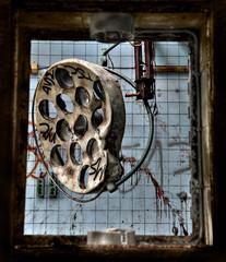 Keuken foto achterwand Oud Ziekenhuis Beelitz Abandoned hospital sanatorium Beelitz Heilstaetten, Germany