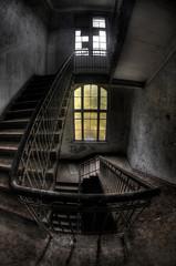 Abandoned hospital sanatorium Beelitz Heilstaetten, Germany