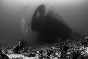 Fototapeten Schiffbruch Thistlegorm wreck