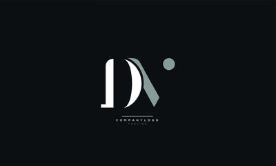DV Letter Logo Design Icon Vector Symbol