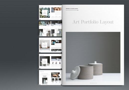 Art Portfolio Layout