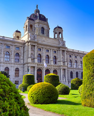 Fond de hotte en verre imprimé Vienne Vienna, Austria - May 18, 2019 - The Naturhistorisches Museum or Natural History Museum located in Vienna, Austria.
