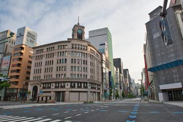 Tuinposter Tokio Tokyo Lock Down