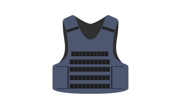 Tactical Vest Vector Illustration Design