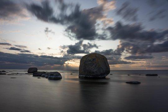 Felsen im Meer - Schweden