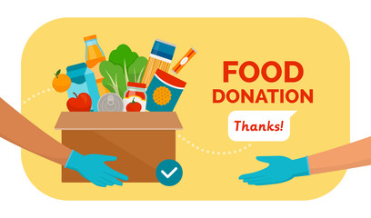 Food and grocery donation