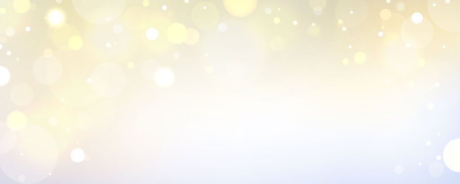 abstract blurred light element that can be used for cover decoration bokeh background with yellow color