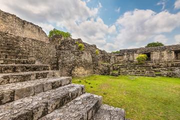 Archaeological Zone of Kohunlich, Yucatan Peninsula, Quintana Roo, Mexico