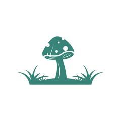 Obraz mushroom vector illustration icon design - fototapety do salonu