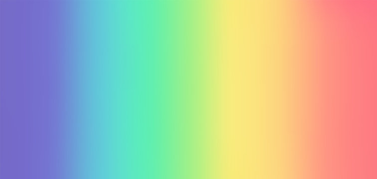 Colorful Rainbow Gradient Background