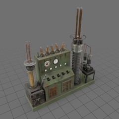 Static electrical influence machine