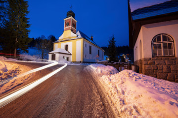 Church of St. Peter and Paul in Spindleruv Mlyn