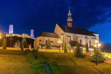 St. Bartholomew Church in Checiny