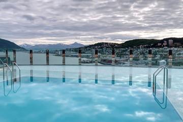 Tromso, cercle polaire arctique en Norvège