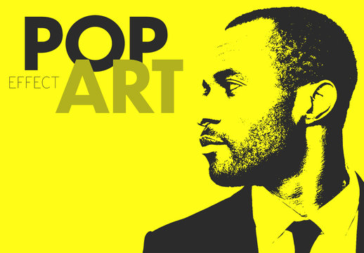 Pop Art Photo Effect