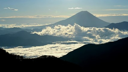 Wall Mural - 富士山と雲海