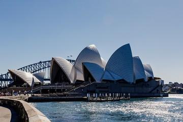 SYDNEY, AUSTRALIA - Apr 20, 2011: Sydney Opera House