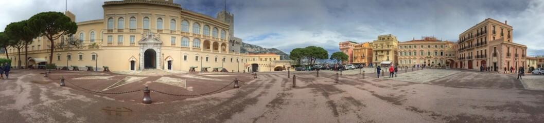 Panoramic View Of Prince Palace Fototapete
