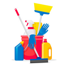 Pack surface cleaning products