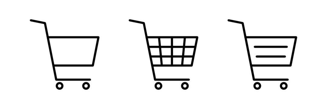 Einkaufswagen / Warenkorb