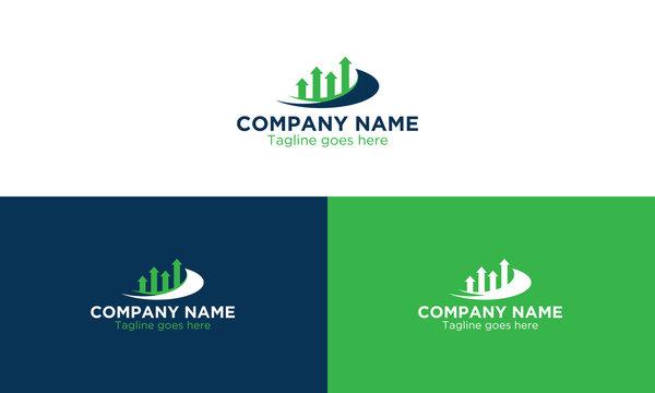 Financial Advisors Logo, icon Design