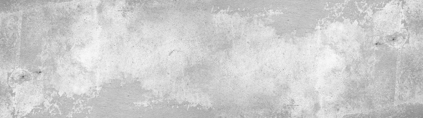 White gray concrete stone cement wall banner background Panorama long Fotomurales
