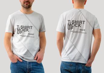 Mockup of a T-Shirt
