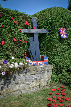 Friday 8 May 2020 marks 75 years since Nazi Germany's formal surrender at the end of the Second World War. On VE (Victory in Europe) Day in 1945, preparations streets  in Ackworth,