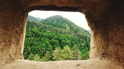 Foto auf Gartenposter Schokobraun Scenic View Of Landscape