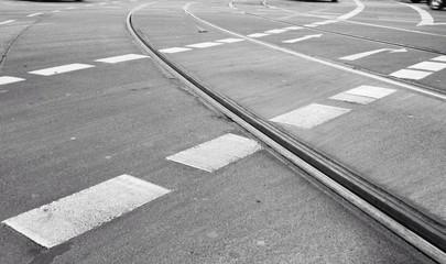 Fotomurales - Tramway On Street