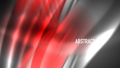 Creative fluid wave lines abstract background. Trendy abstract layout template for business or technology presentation, internet poster or web brochure cover, wallpaper
