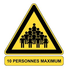 10 personnes maximum