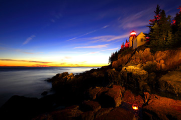 Bass Harbur Head Light,. Acadia National Park