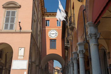Fotomurales - Historic buildings of Imola, Bologna, Italy