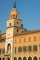 Fototapete - Historic center of Modena, Emilia-Romagna, Italy