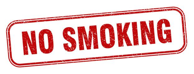 no smoking stamp. no smoking square grunge sign. label Fototapete