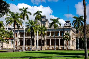 Ilolani Palace in Honolulu