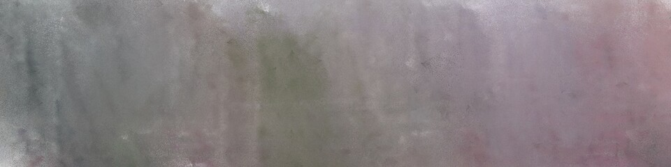 wide art grunge gray gray, pastel gray and dark gray colored vintage abstract painted background with space for text or image. can be used as horizontal header or banner orientation Wall mural