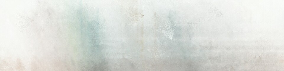wide art grunge abstract painting background graphic with light gray, beige and ash gray colors and space for text or image. can be used as header or banner Wall mural