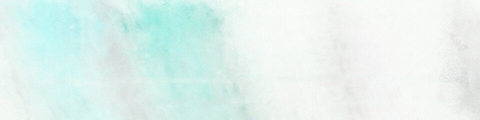 wide art grunge abstract painting background texture with honeydew, white smoke and powder blue colors and space for text or image. can be used as postcard or poster Wall mural