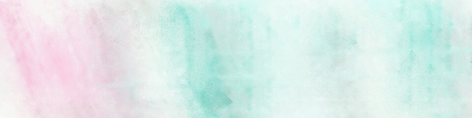 wide art grunge abstract painting background texture with lavender, powder blue and sky blue colors and space for text or image. can be used as horizontal background texture Wall mural