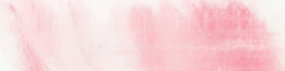 wide art grunge misty rose and light pink colored vintage abstract painted background with space for text or image. can be used as postcard or poster Wall mural