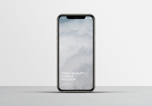 Clean Phone Mobile Device Mockup