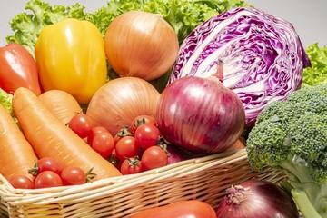 新鮮で栄養満点の美味しい野菜