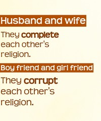 Obraz Islamic words about a haram