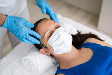 Reflexology Head Spa Massage For Woman